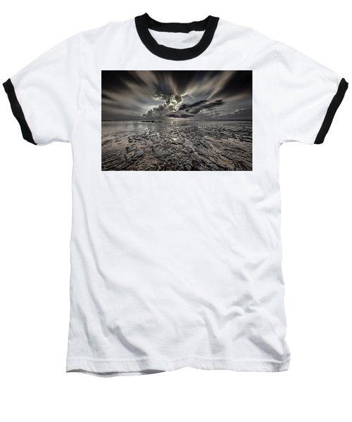 Seascape Of Hilton Head Island Baseball T-Shirt