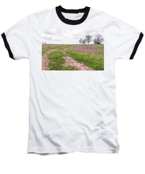 Texas Wildflowers 3 Baseball T-Shirt