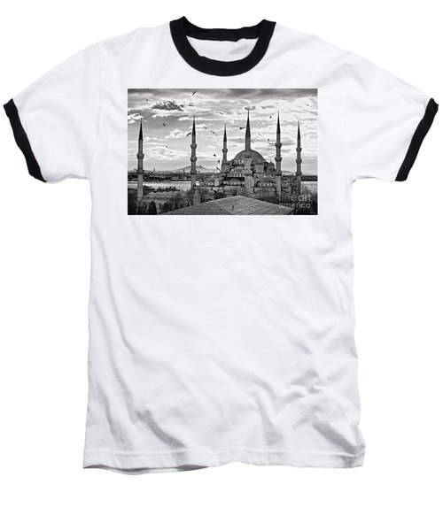 The Blue Mosque - Istanbul Baseball T-Shirt