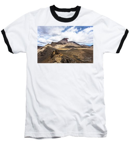 Tongariro Alpine Crossing In New Zealand Baseball T-Shirt