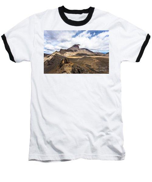 Tongariro Alpine Crossing In New Zealand Baseball T-Shirt