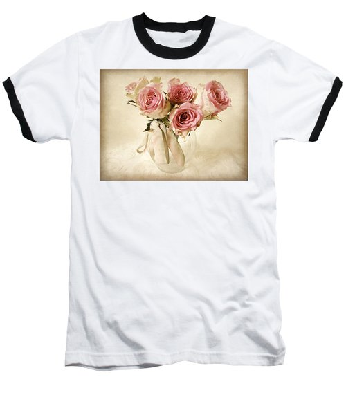 Vintage Bouquet Baseball T-Shirt