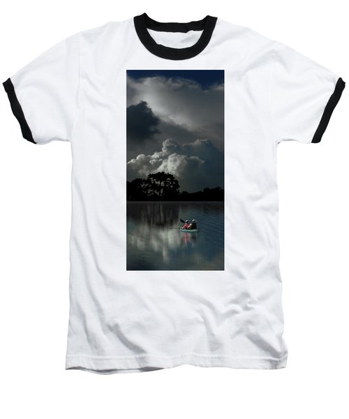 Baseball T-Shirt featuring the photograph 4477 by Peter Holme III