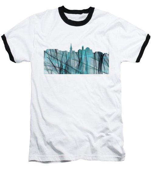 Alexandria Virginia Skyline Baseball T-Shirt
