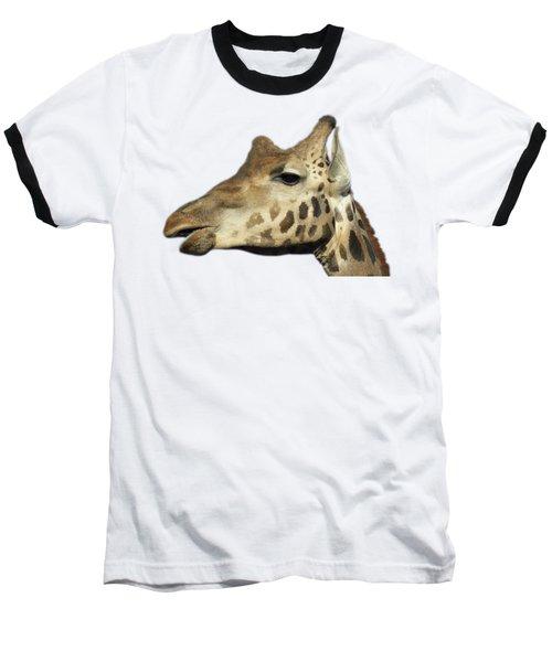 Baringo Giraffe Baseball T-Shirt