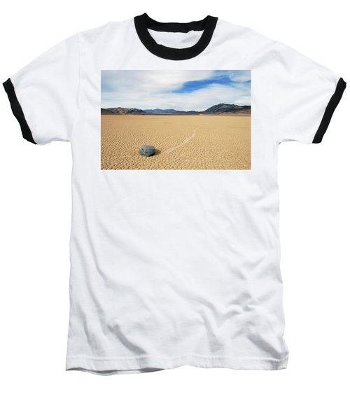 Death Valley Racetrack Baseball T-Shirt