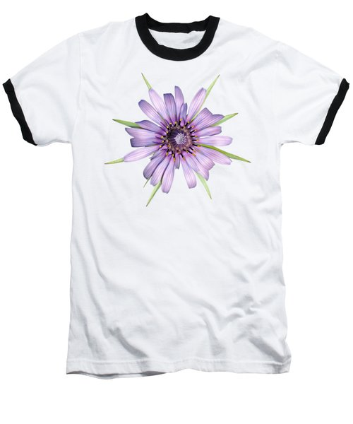 Salsify Flower Baseball T-Shirt