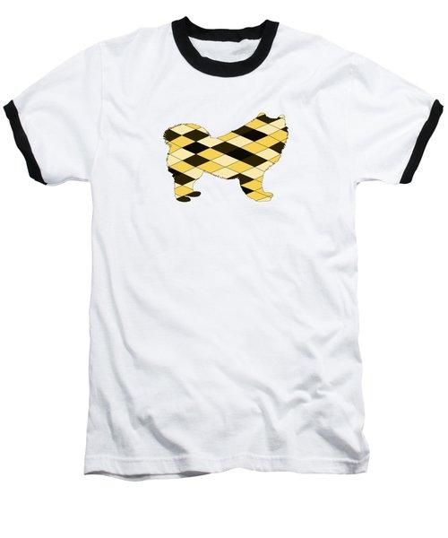 Samoyed Baseball T-Shirt by Mordax Furittus