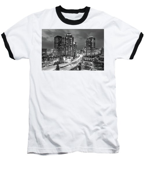 Seoul Night Rush Baseball T-Shirt