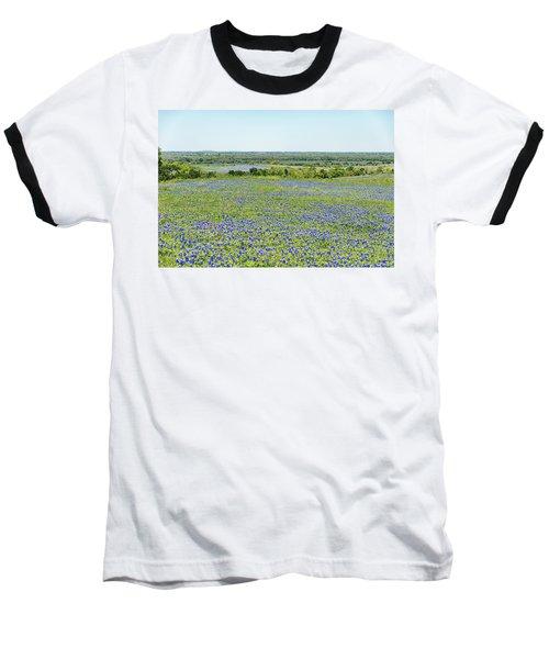 Texas Bluebonnets 10 Baseball T-Shirt
