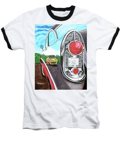 56 Chevy Reflections Baseball T-Shirt