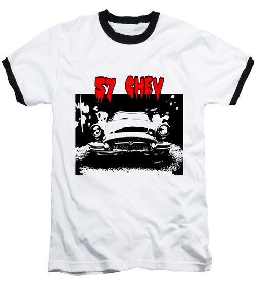 57 Chev Baseball T-Shirt