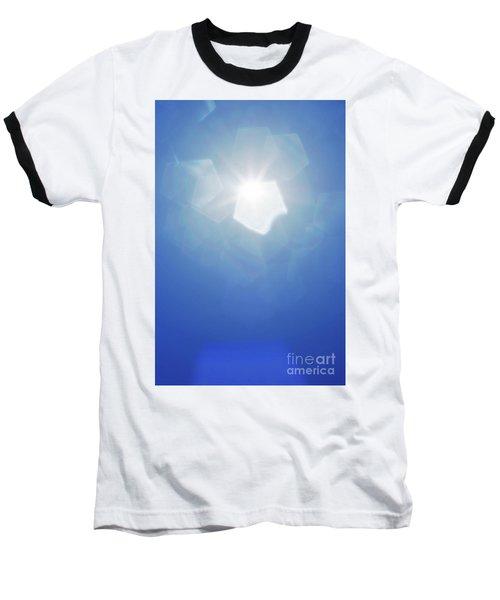 Baseball T-Shirt featuring the photograph Abstract Sunlight by Atiketta Sangasaeng