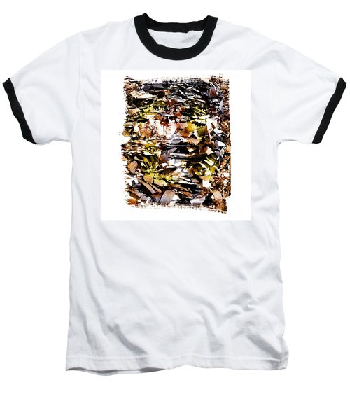 Compressed Pile Of Paper Products Baseball T-Shirt