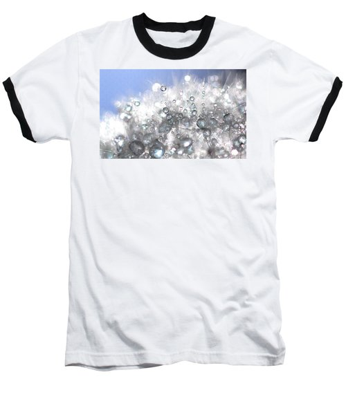 Baseball T-Shirt featuring the photograph Drops by Sylvie Leandre