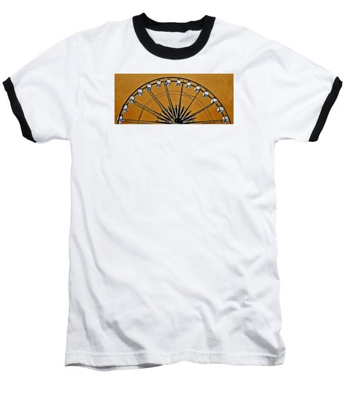 Baseball T-Shirt featuring the photograph Ferris Wheel Impressions by Werner Lehmann