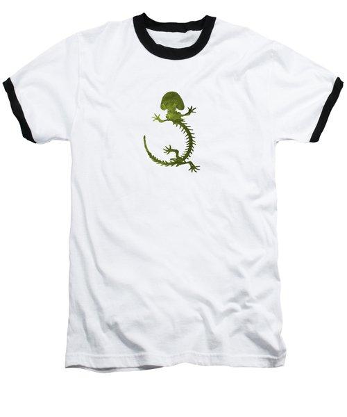 Hellbender Skeleton Baseball T-Shirt
