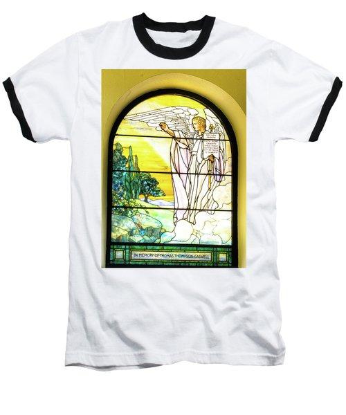Saint Anne's Windows Baseball T-Shirt