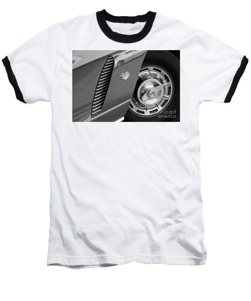 Baseball T-Shirt featuring the photograph '62 In Black And White by Dennis Hedberg