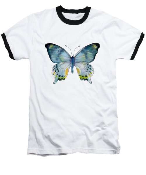68 Laglaizei Butterfly Baseball T-Shirt by Amy Kirkpatrick