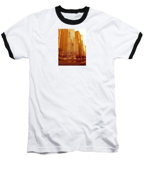 6th Avenue In Mahattan Baseball T-Shirt