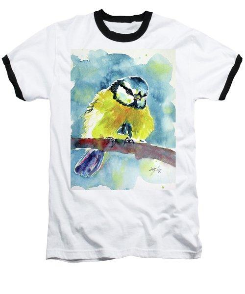 Bird Baseball T-Shirt by Kovacs Anna Brigitta