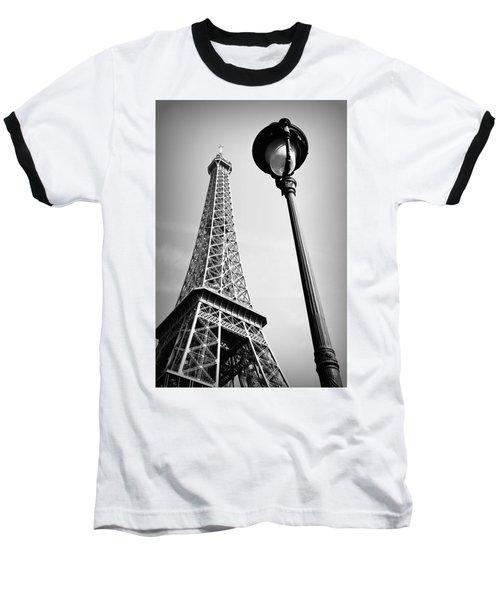 Baseball T-Shirt featuring the photograph Eiffel Tower by Chevy Fleet