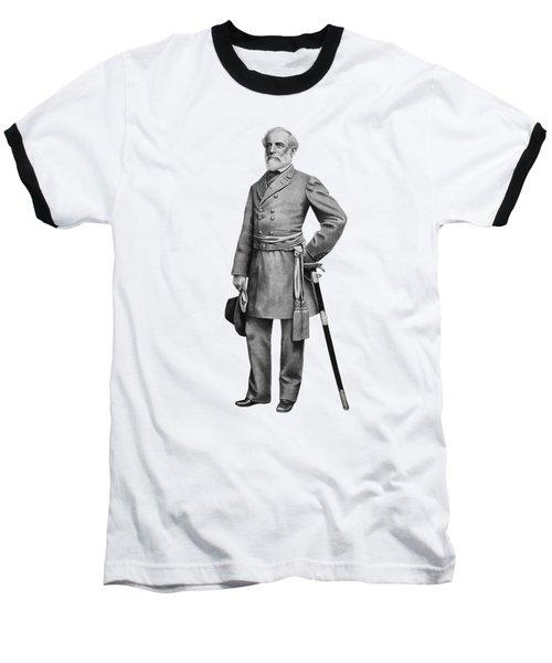General Robert E Lee Baseball T-Shirt