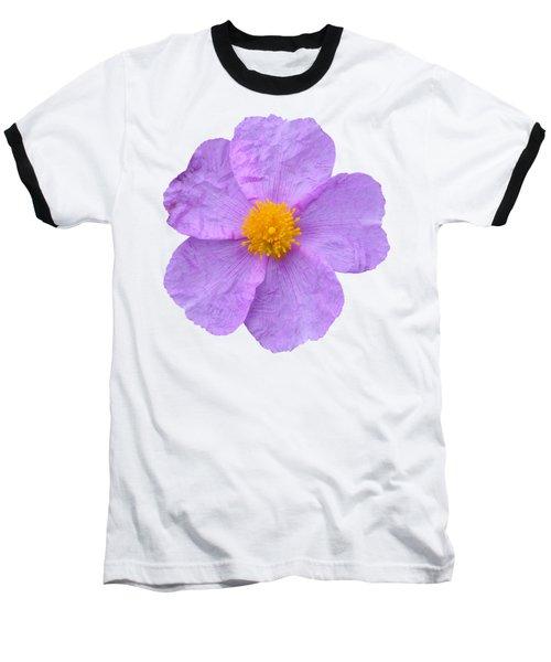 Rockrose Flower Baseball T-Shirt