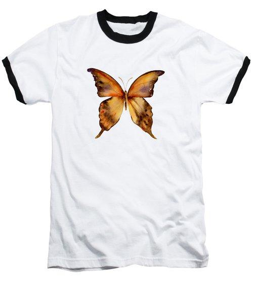 7 Yellow Gorgon Butterfly Baseball T-Shirt