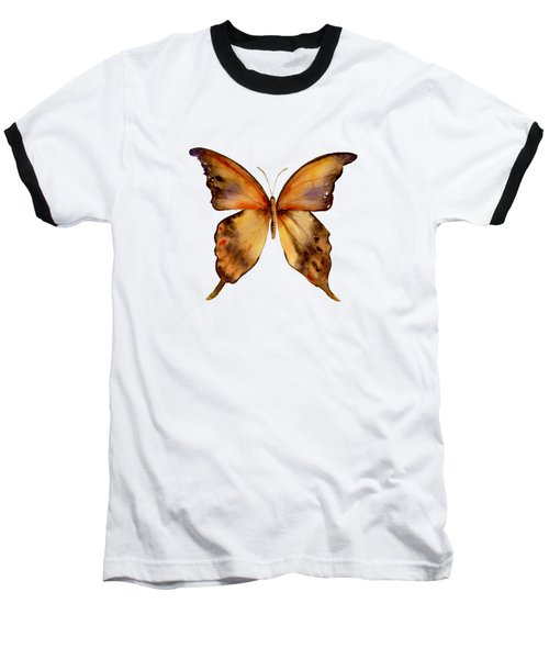 7 Yellow Gorgon Butterfly Baseball T-Shirt