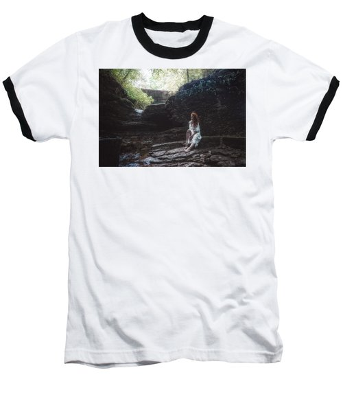 Baseball T-Shirt featuring the photograph Aretusa by Traven Milovich