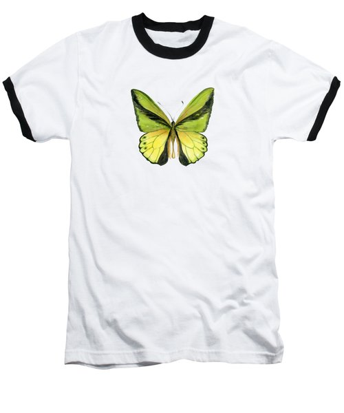 8 Goliath Birdwing Butterfly Baseball T-Shirt