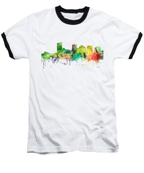 Phoenix Arizona Skyline Baseball T-Shirt