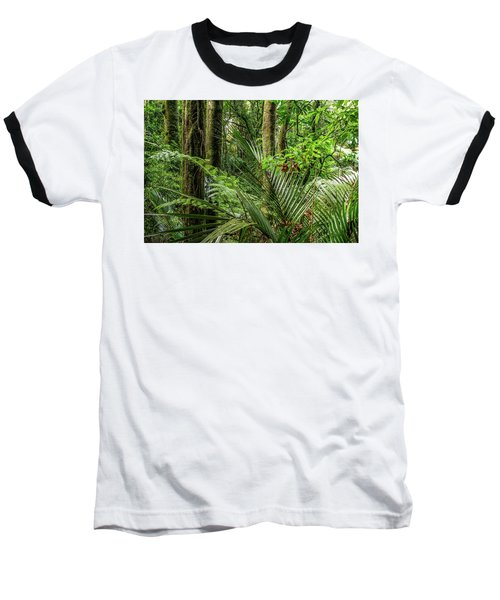 Baseball T-Shirt featuring the photograph Tropical Jungle by Les Cunliffe