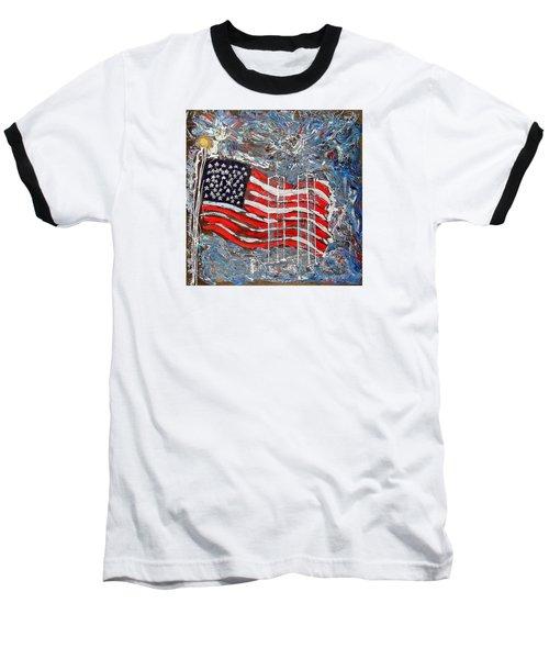 9/11 Tribute Baseball T-Shirt