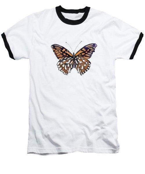 9 Mexican Silver Spot Butterfly Baseball T-Shirt
