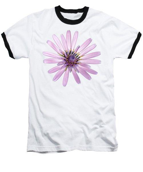 Salsify Flower Baseball T-Shirt