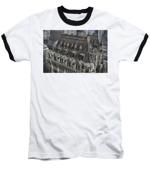 90 West - West Street Building Baseball T-Shirt