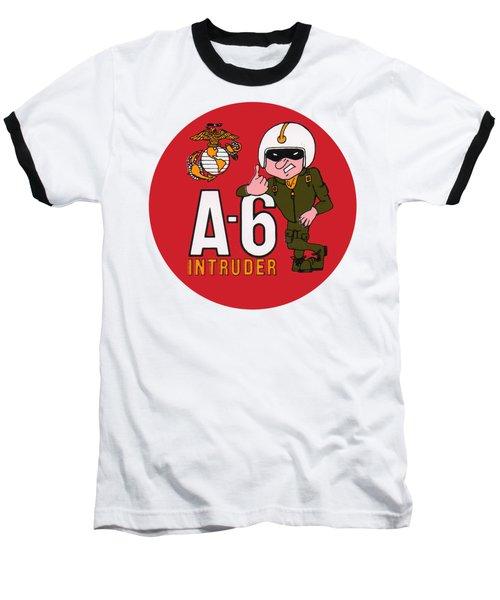 A-6 Intruder Baseball T-Shirt
