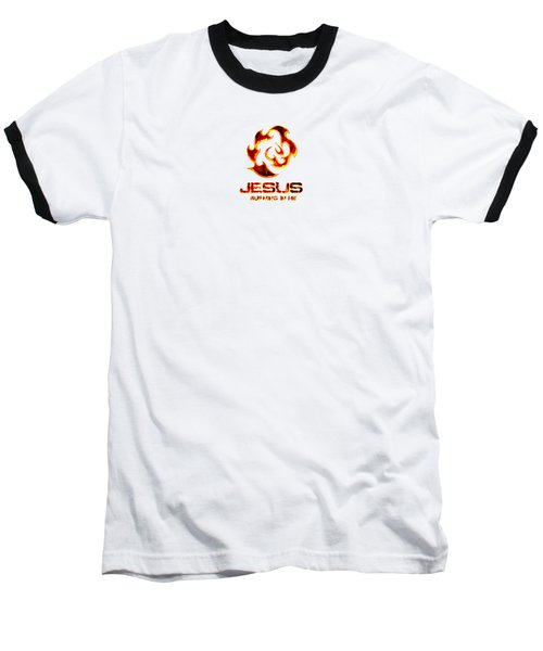 A Burning Bush Baseball T-Shirt