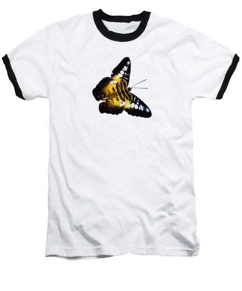 A Butterfly In The Forest Baseball T-Shirt by Mark Andrew Thomas