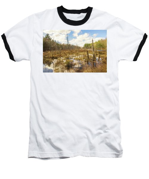 A Connecticut Marsh Baseball T-Shirt