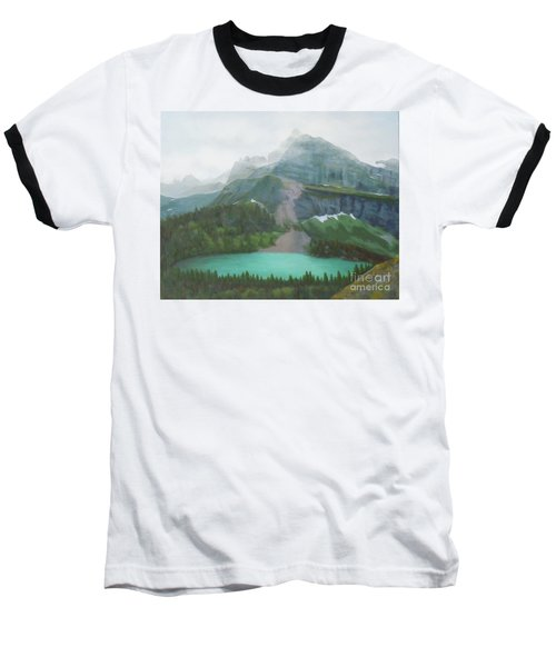 A Day In Glacier National Park Baseball T-Shirt