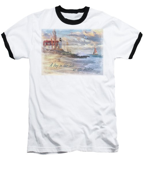 A Day In The Life At The Beach Baseball T-Shirt