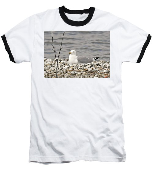 A Few Moments Of Peace Baseball T-Shirt