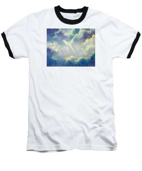 A Gift From Heaven Baseball T-Shirt by Marina Petro