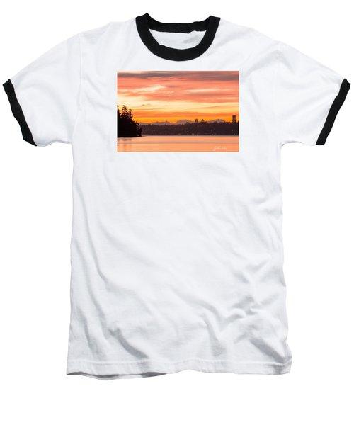 A Glaze Of Orange Baseball T-Shirt by E Faithe Lester