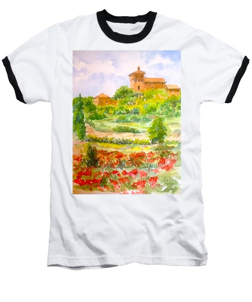 A Hillside Near San Gimignano Baseball T-Shirt