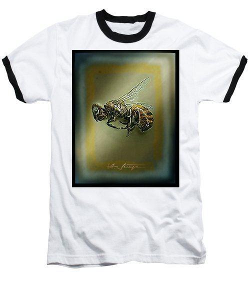 A Humble Bee Remembered Baseball T-Shirt